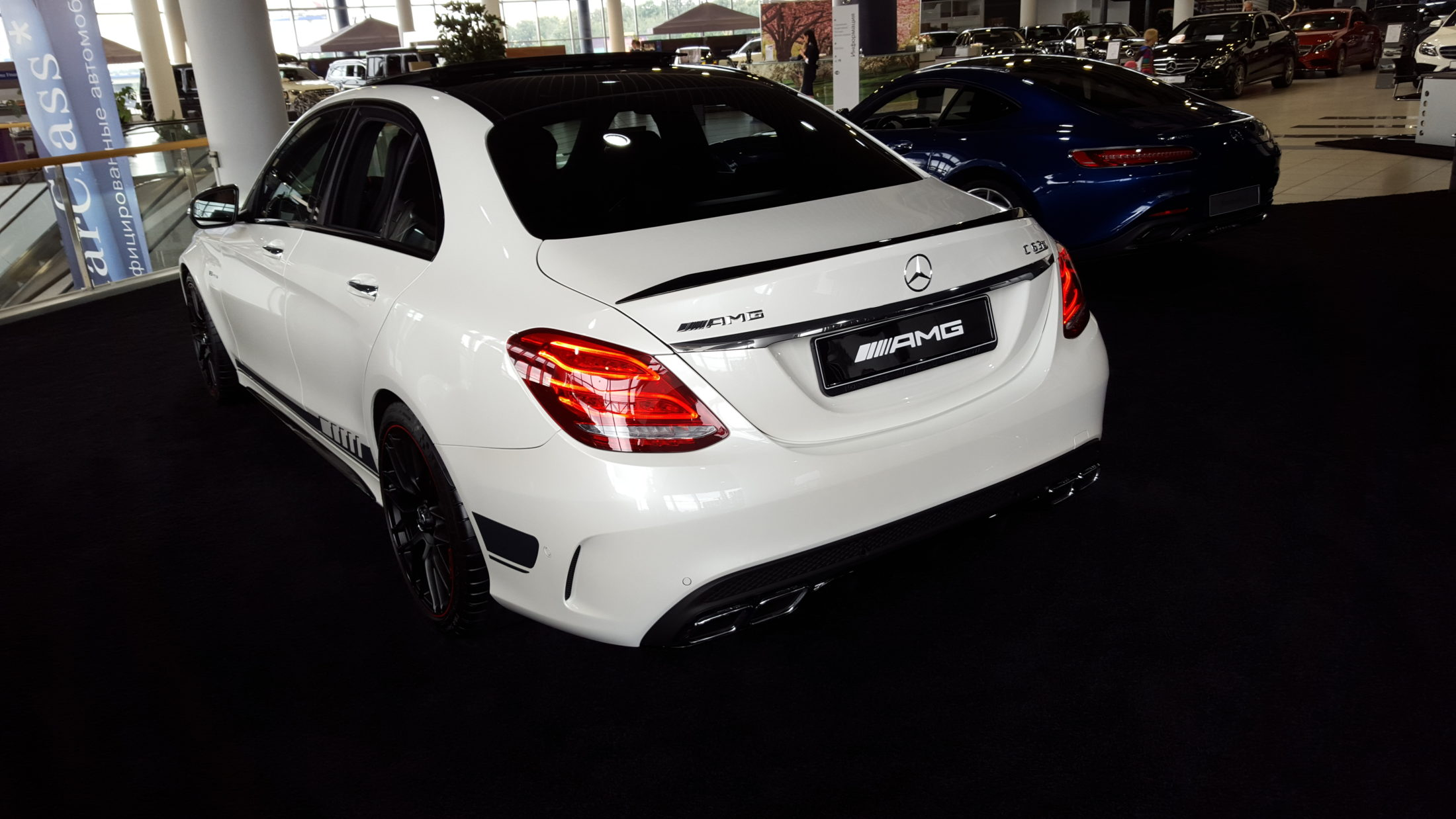 How I purchased C63 AMG by chance