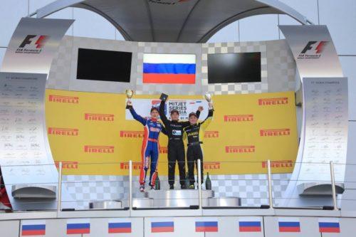 A.Karachev podium